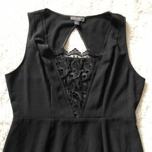 Forever 21 Dresses - Forever 21+ plus Black Lace Work Dress 1X